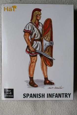 HaT 1/32 HAT9019 Spanish Infantry (Ancients)